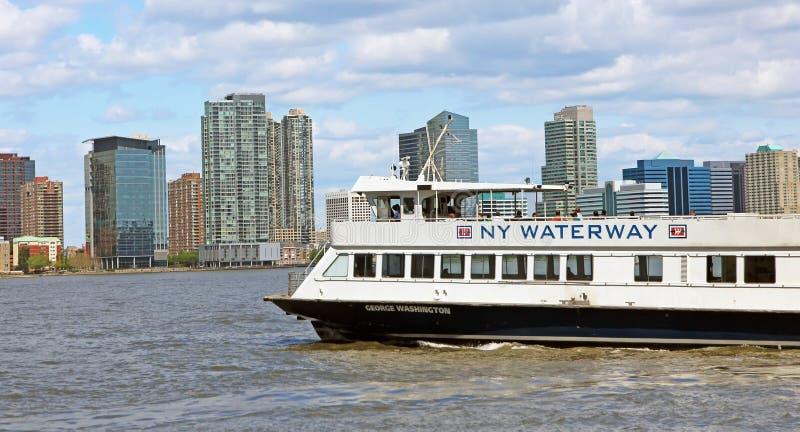 NY Waterway royalty free stock image