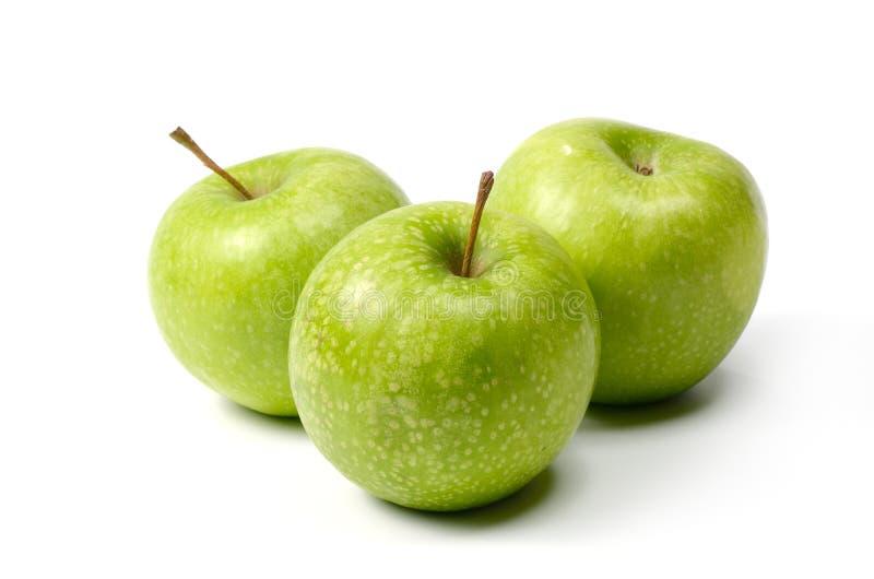 nya äpplen arkivfoto