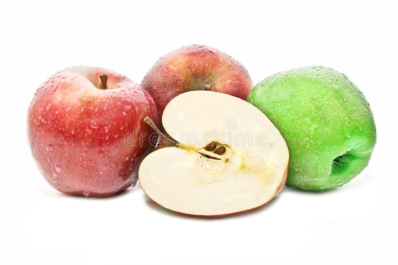 nya äpplen mycket arkivfoton