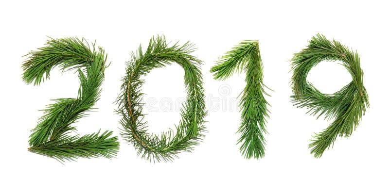 2019 nya år arkivbild