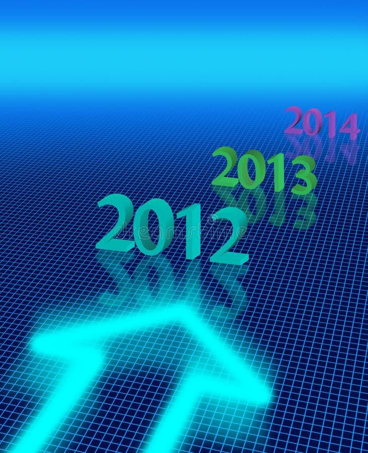 Nya år Arkivfoton