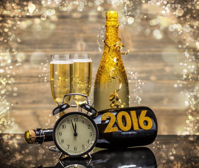 2016 nya år arkivfoton