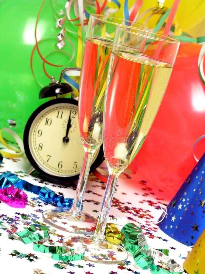Download Nya år för helgdagsafton arkivfoto. Bild av banderoll, nytt - 249678