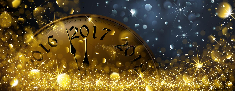 Nya år helgdagsafton 2017