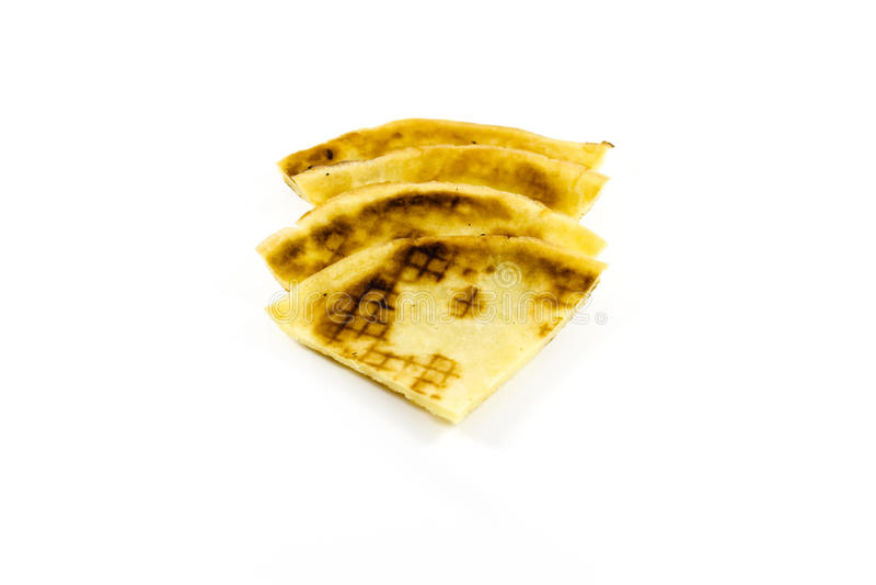 Nya bakade pannkakor arkivbilder