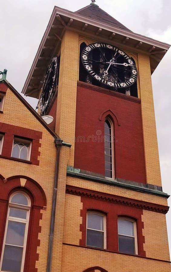 Nya Bern City Hall arkivbild
