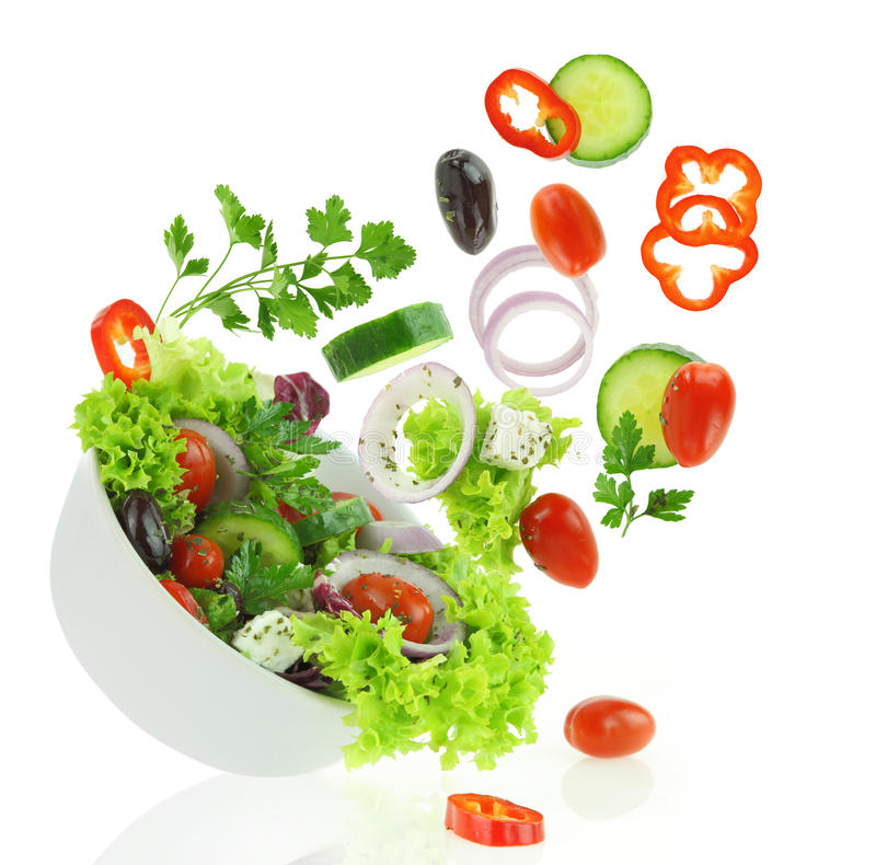 Nya blandade grönsaker royaltyfri fotografi