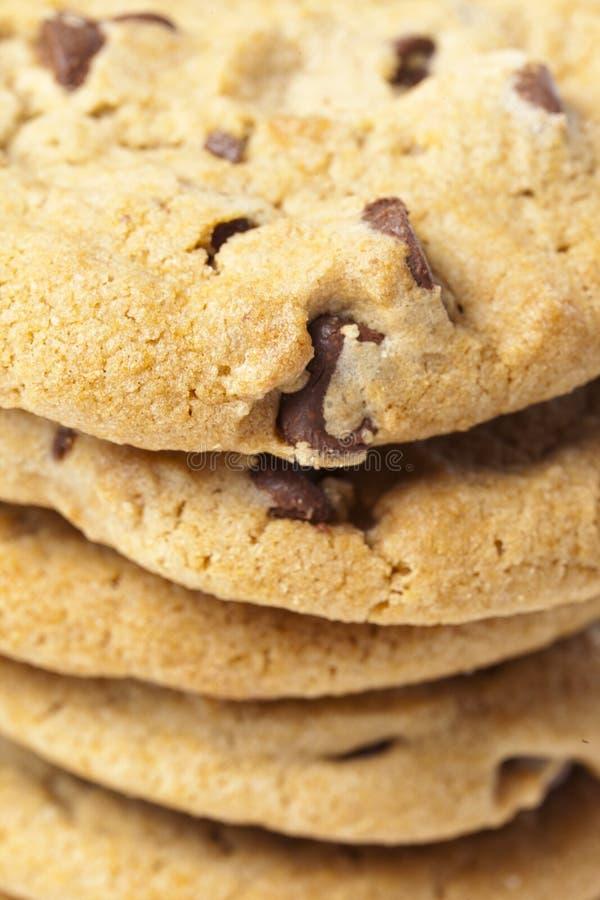 nya chipchokladkakor arkivbilder