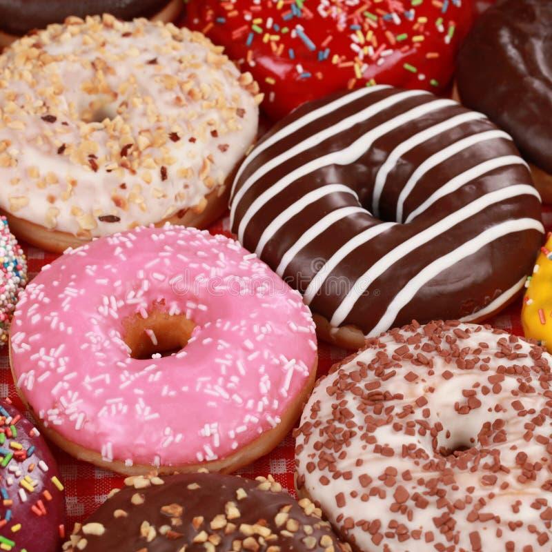 Nya Donuts arkivfoto