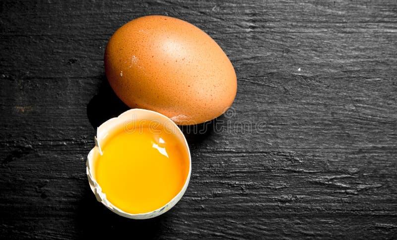 nya fega ägg arkivbild