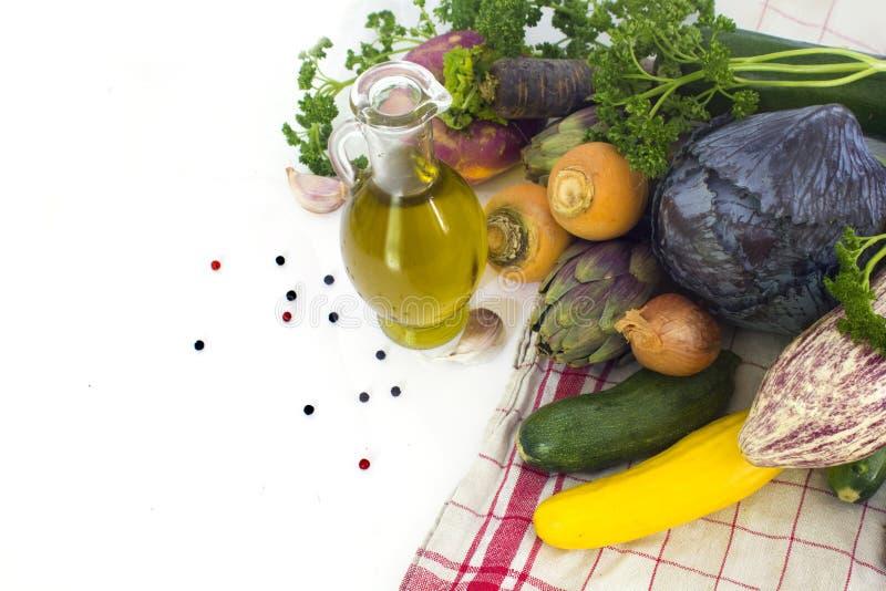 nya fjädergrönsaker arkivfoton