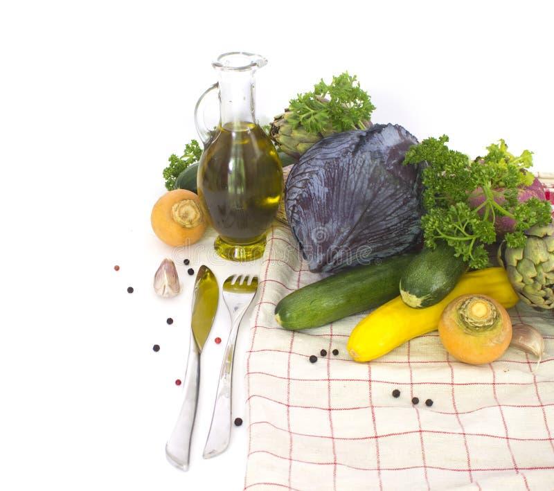 nya fjädergrönsaker arkivbilder