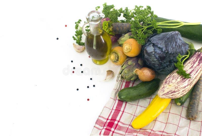 nya fjädergrönsaker fotografering för bildbyråer