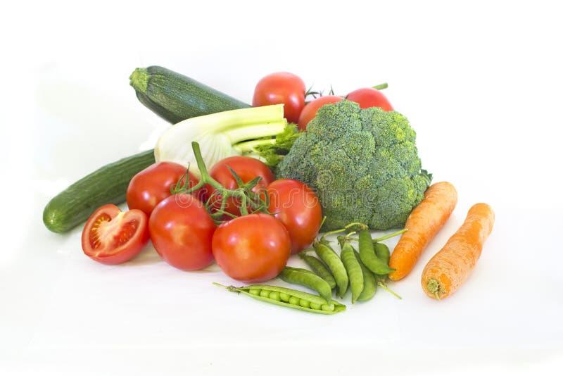 nya fjädergrönsaker royaltyfri bild