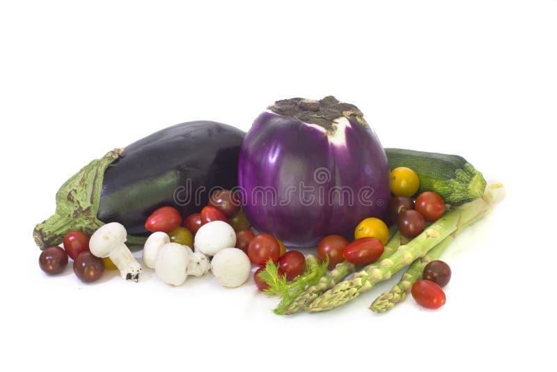 nya fjädergrönsaker arkivbild