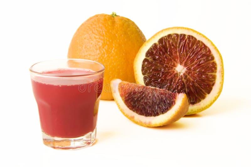 nya fruktsaftapelsiner för blod fotografering för bildbyråer