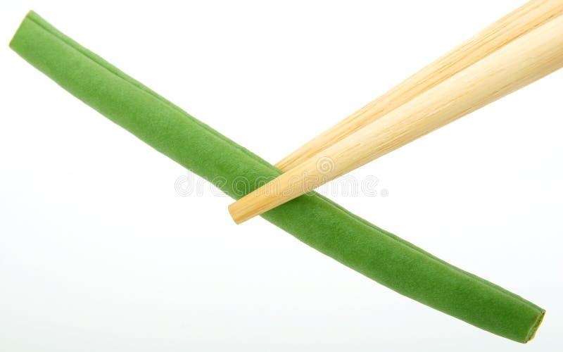 Nya grönsaker - haricot vert arkivfoton