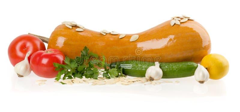 Nya grönsaker som isoleras på vit royaltyfria foton