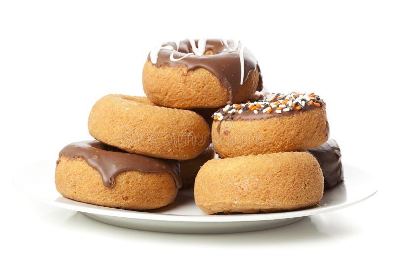 Download Nya hemlagade Donuts fotografering för bildbyråer. Bild av göda - 27275697