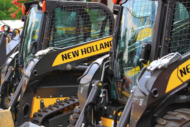 Nya Holland Farm Equipment royaltyfria bilder