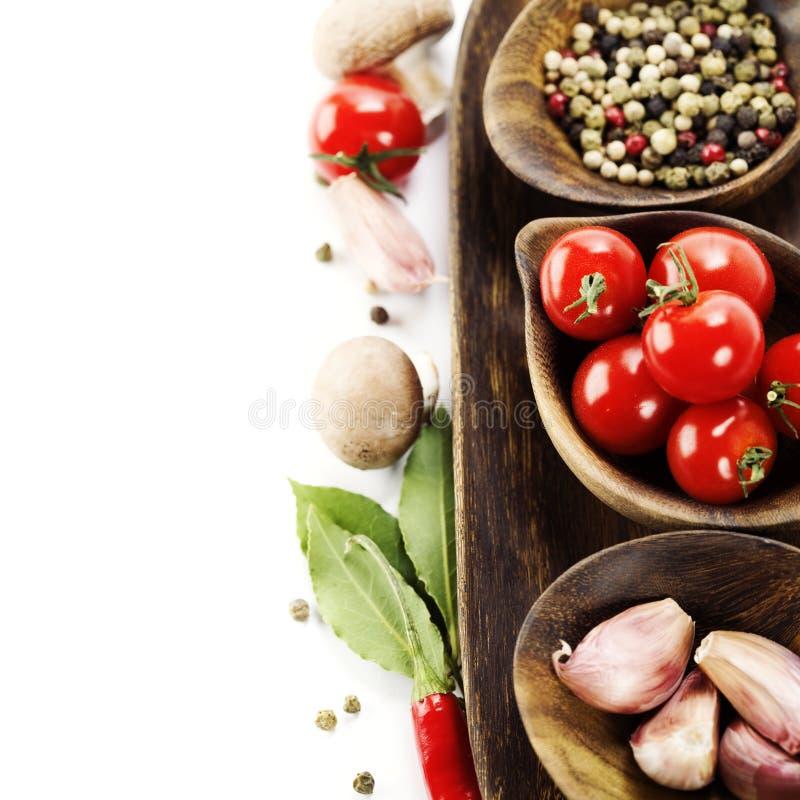 nya kryddagrönsaker arkivfoto