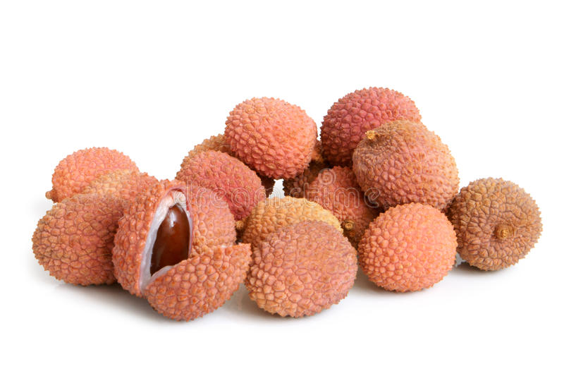 nya lychees royaltyfri fotografi