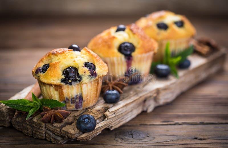 nya muffiner arkivfoto