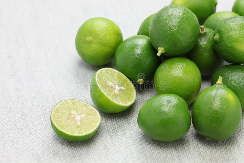 Nya nyckel- limefrukter royaltyfri foto
