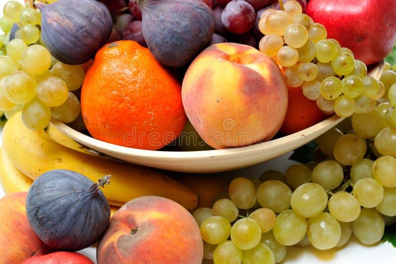 Nya olika frukter arkivbild