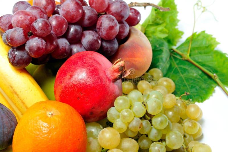 Nya olika frukter royaltyfri bild