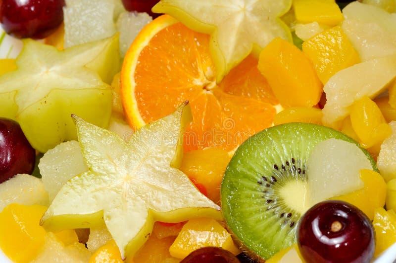 Nya olika frukter royaltyfri fotografi