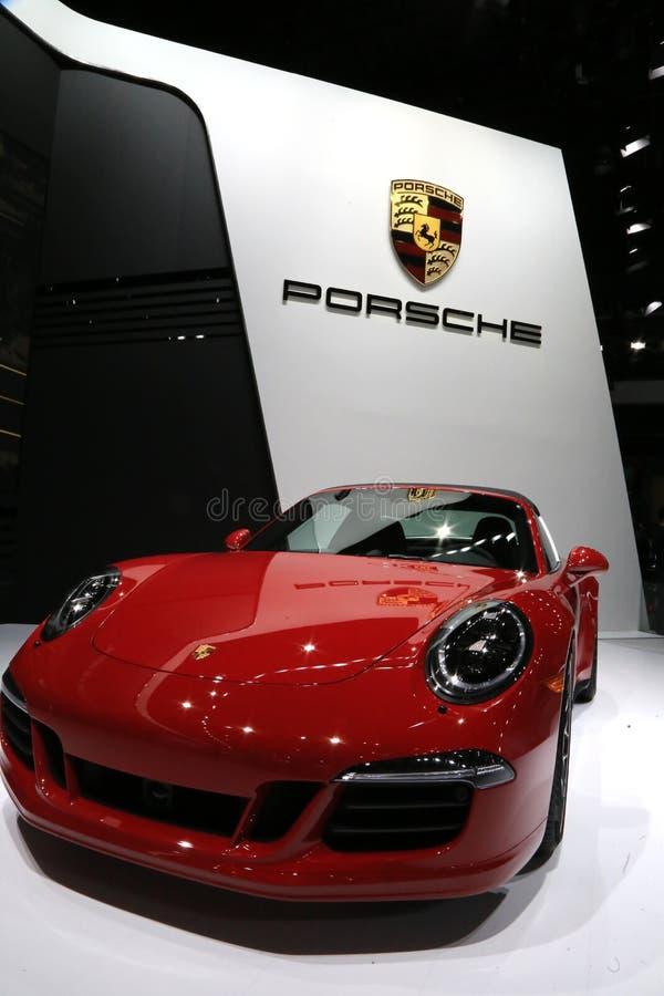 Nya Porsche fotografering för bildbyråer