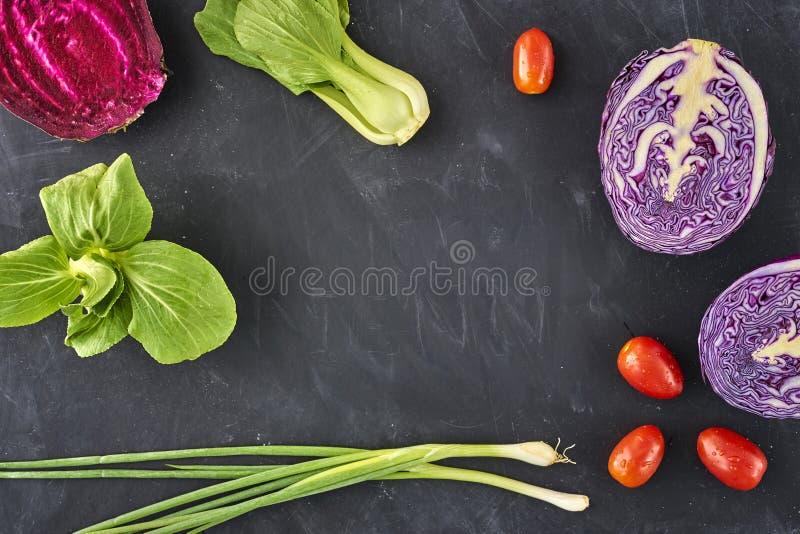 Nya saftiga grönsaker arkivfoton
