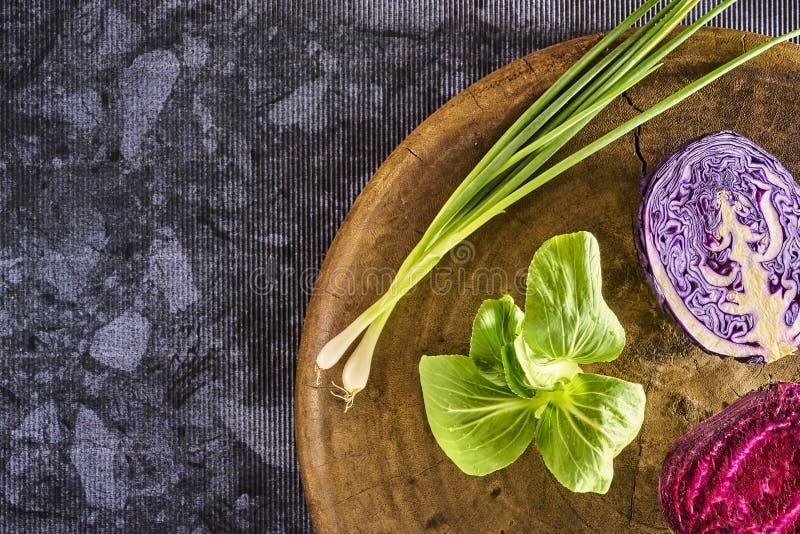 Nya saftiga grönsaker royaltyfria foton