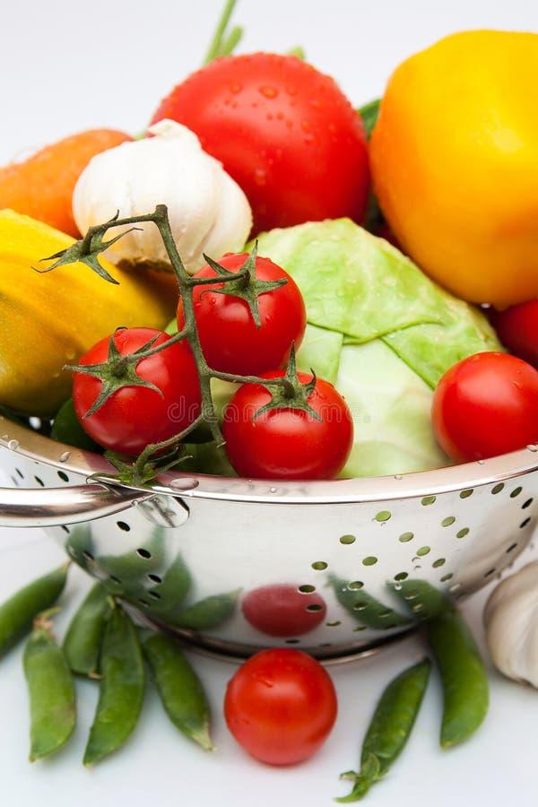 Nya smakliga grönsaker. Matingredienser. royaltyfria foton