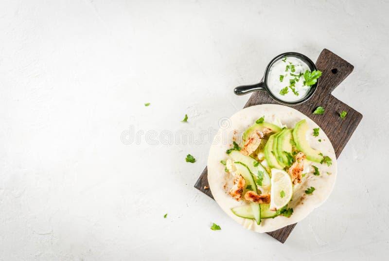 Nya sunda taco arkivbilder