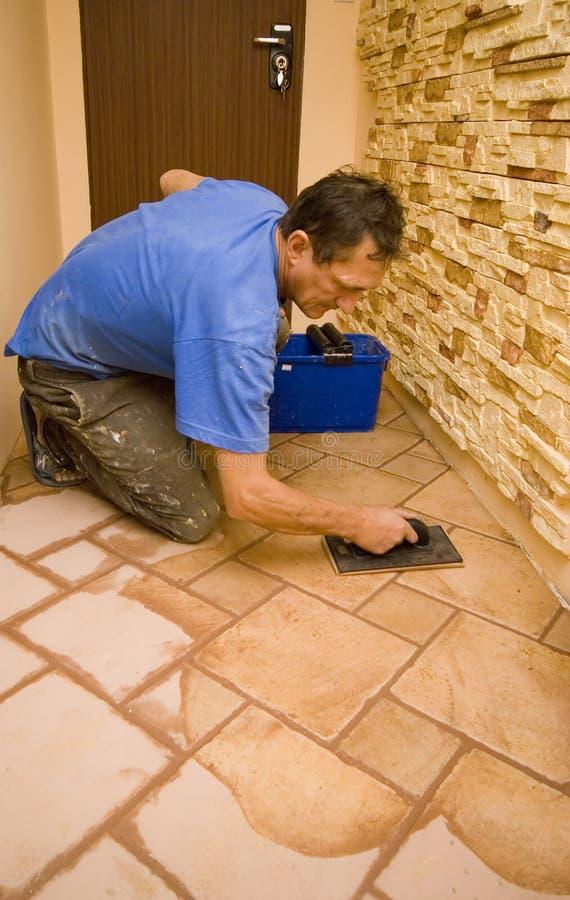 nya tegelplattor för golv