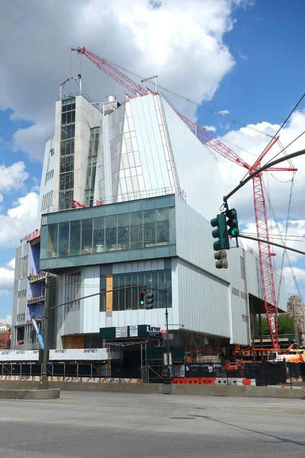 Nya Whitney Museum royaltyfri bild