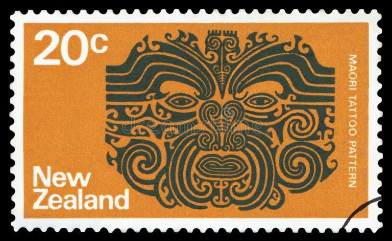 NYA ZEELAND - Portost?mpel arkivbilder