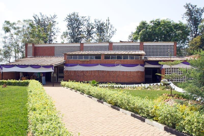 Nyamata Kirche stockbilder