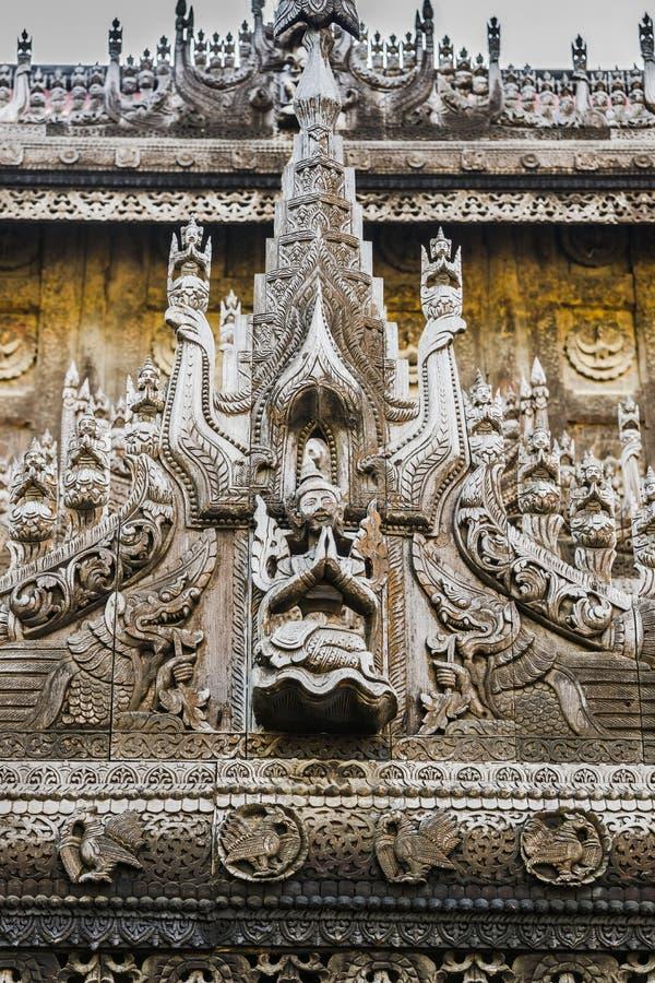 Nyan Shwe Kgua temple. stock images