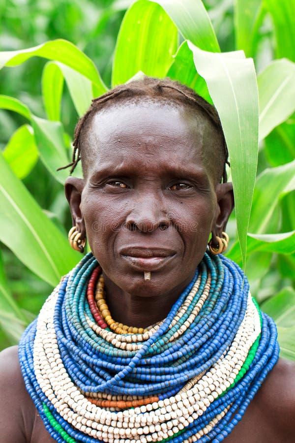 Nyangatom royalty free stock photos