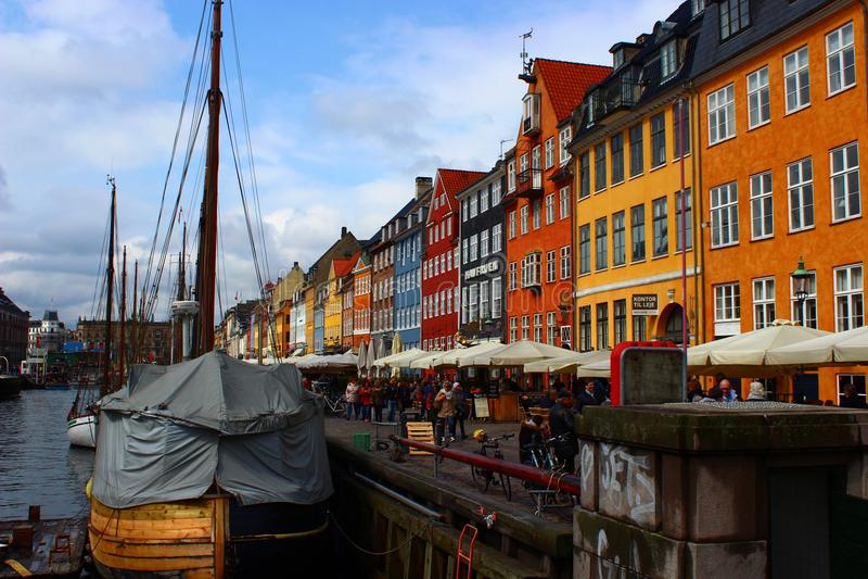 Nyavn Copenhagen royalty free stock photos