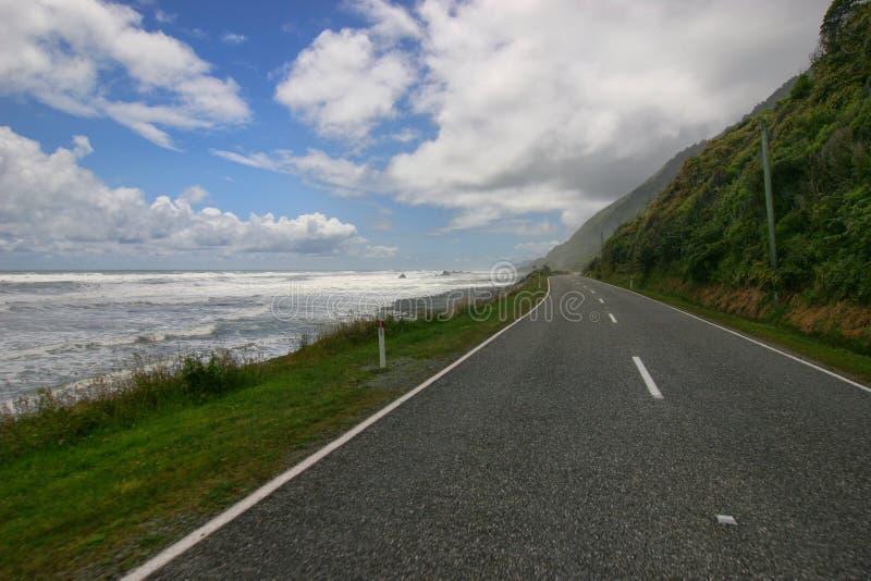Nyazeeländska vägar royaltyfri foto