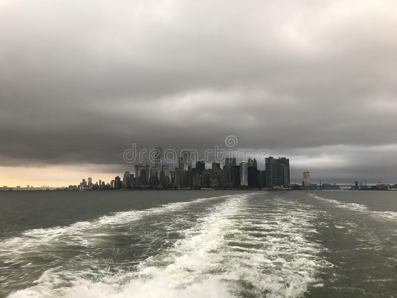 NYC地平线 免版税库存图片