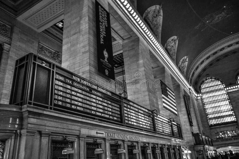 NYC盛大中央驻地 免版税库存图片