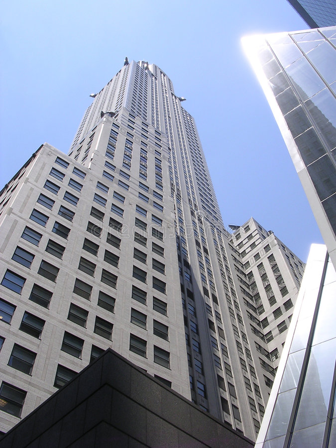 nyc ουρανοξύστες στοκ εικόνες με δικαίωμα ελεύθερης χρήσης