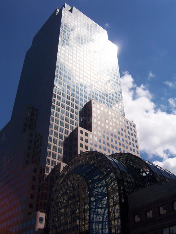 nyc ουρανοξύστης στοκ εικόνα με δικαίωμα ελεύθερης χρήσης