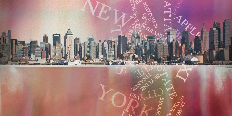 NYC иллюстрация вектора