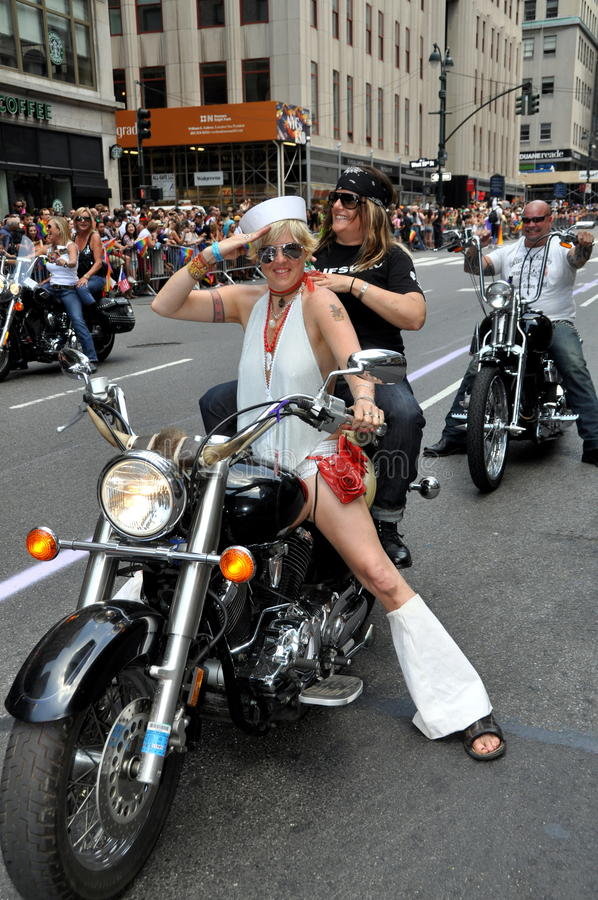 Download NYC: 2012 Gay Pride Parade editorial photography. Image of salute - 25437067